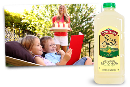 Turkey Hill All Natural Lemonade Flavors