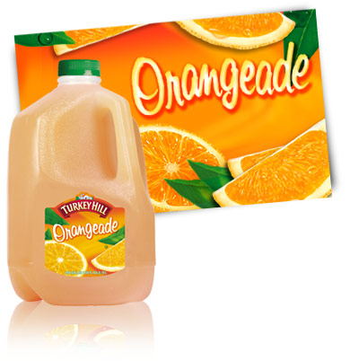 Turkey Hill Orangeade Fruit Drinks