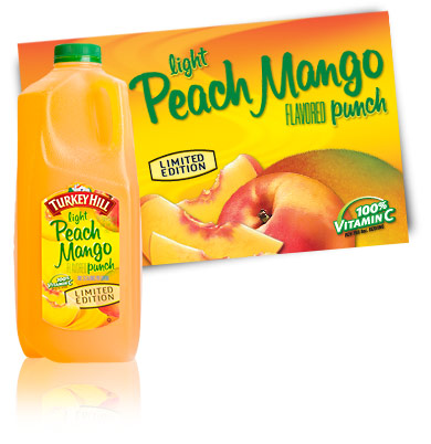 Turkey Hill Light Peach Mango Punch Fruit Drinks
