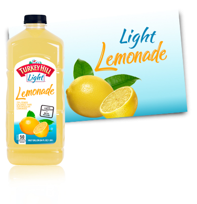 Turkey Hill Light Lemonade Fruit Drinks