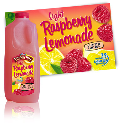 Turkey Hill Light Raspberry Lemonade Fruit Drinks