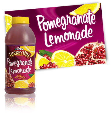 Turkey Hill Pomegranate Lemonade Fruit Drinks