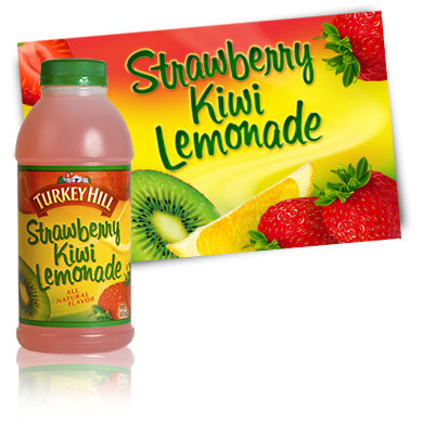 Turkey Hill Strawberry Kiwi Lemonade Fruit Drinks
