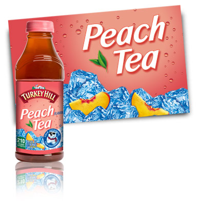 Turkey Hill Peach Tea Refrigerated Tea