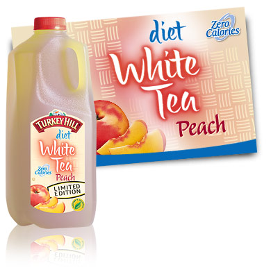 Turkey Hill Diet White Peach Tea Refrigerated Tea