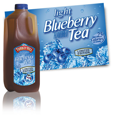 Turkey Hill Light Blueberry Tea Refrigerated Tea