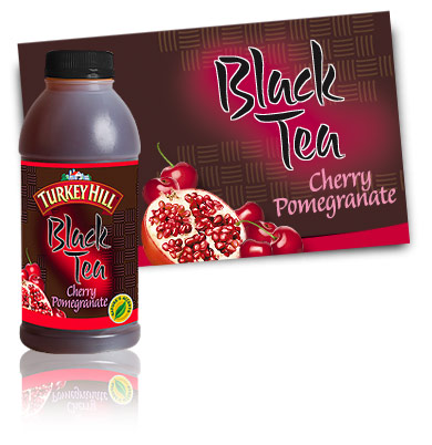 Turkey Hill Cherry Pomegranate Black Tea Refrigerated Tea