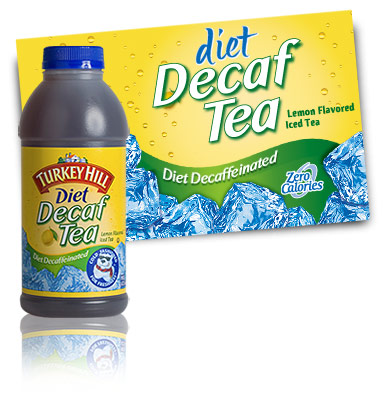 Turkey Hill Diet Decaffeinated Iced Tea Refrigerated Tea