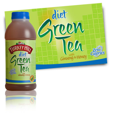 Diet Green  on Diet Green Tea Refrigerated Tea   Turkey Hill Dairy