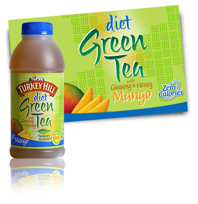 Turkey Hill Diet Green Tea Mango Refrigerated Tea