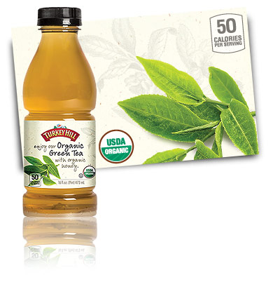 Turkey Hill Organic Green Tea Organic Iced Tea