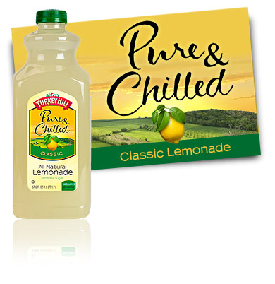 Turkey Hill All Natural Lemonade Pure & Chilled