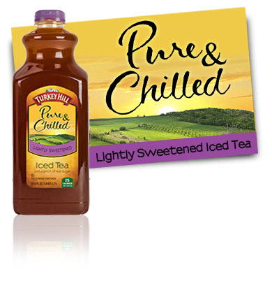 Turkey Hill Iced Tea Lightly Sweetened Pure & Chilled