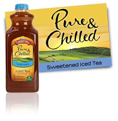 Turkey Hill Iced Tea Sweetened Pure & Chilled