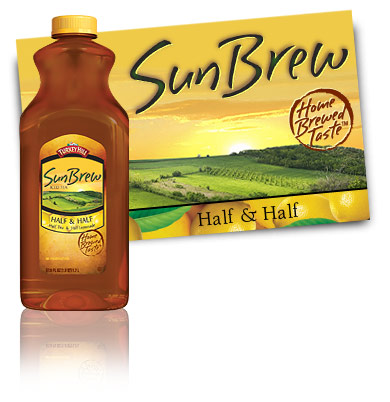 Turkey Hill SunBrew Half and Half SunBrew Iced Tea
