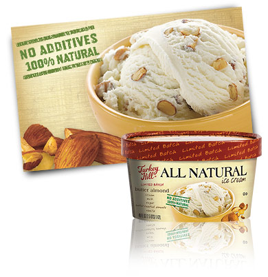 Turkey Hill Butter Almond - Limited Batch All Natural Recipe