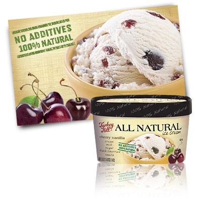 Turkey Hill Cherry Vanilla All Natural Recipe