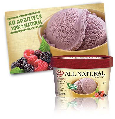 Turkey Hill Raspberry - Limited Batch All Natural Recipe