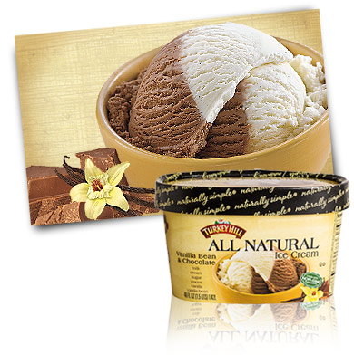Turkey Hill Vanilla Bean and Chocolate All Natural Recipe
