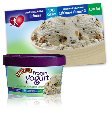 Turkey Hill Chocolate Chip Cookie Dough Frozen Yogurt
