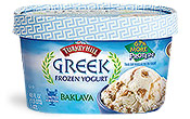 Greek Frozen Yogurt Baklava Frozen Yogurt