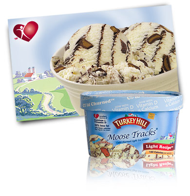 Turkey Hill Moose Tracks® Light Ice Cream