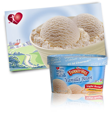Turkey Hill Vanilla Bean Light Ice Cream