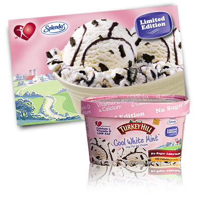 Turkey Hill Cool White Mint No Sugar Added Ice Cream