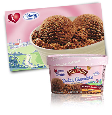 Turkey Hill Dutch Chocolate No Sugar Added Ice Cream