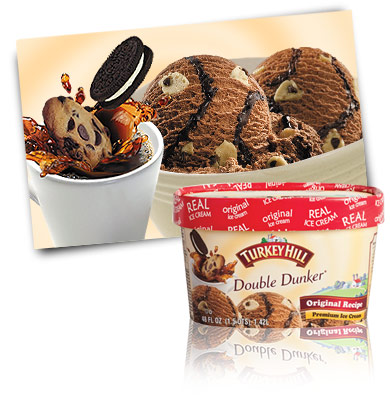 Turkey Hill Double Dunker Premium Ice Cream