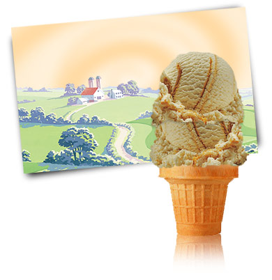 Turkey Hill Peanut Butter Ripple Premium Ice Cream