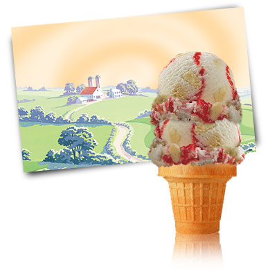 Turkey Hill Strawberry Cheesecake Premium Ice Cream