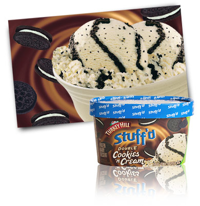 Turkey Hill Double Cookies 'n Cream Stuff'd