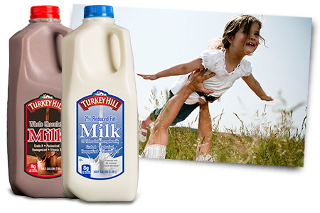 Turkey Hill Milk Flavors