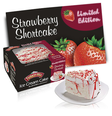 Turkey Hill Strawberry Shortcake - Limited Edition Ice Cream Cakes