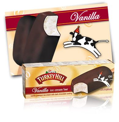 Turkey Hill Vanilla Ice Cream Bar Individual Selections