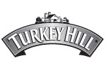 Grayscale Turkey Hill logo