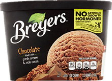 Breyers Natural Chocolate Ice Cream