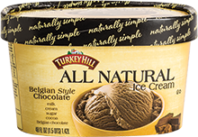 Turkey Hill Belgian Style Chocolate Ice Cream