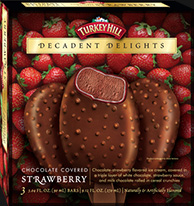 Decadent Delight Chocolate Covered Strawberry Ice Cream Bars