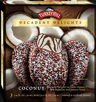 Decadent Delight Coconut Ice Cream Bars