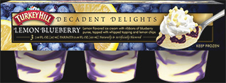 Decadent Delight Lemon Blueberry Parfaits