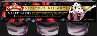 Decadent Delight Mixed Berry Parfaits