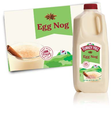 Turkey Hill Egg Nog Drink Egg Nog