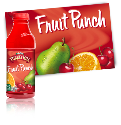 Turkey Hill Fruit Punch Fruit Drinks