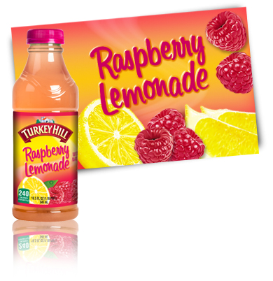 Turkey Hill Raspberry Lemonade Fruit Drinks
