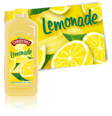 Turkey Hill Lemonade Fruit Drinks