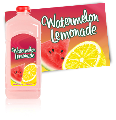 Turkey Hill Watermelon Lemonade Fruit Drinks