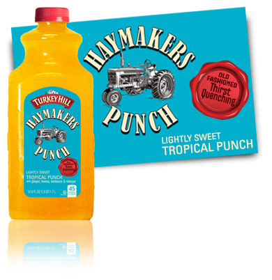 Turkey Hill Lightly Sweet Tropical Punch Haymakers