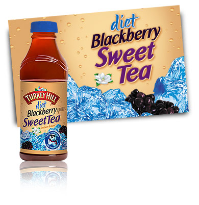 Turkey Hill Diet Blackberry Sweet Tea Iced Tea